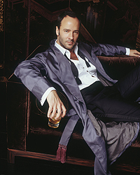 Tom Ford wins Vito Russo Award at the 18th Annual GLAAD Media Awards.