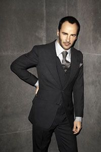 Tom Ford in his own designs © Terry Richardson