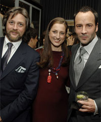 Rufus and Sally Albemarle and Tom Ford