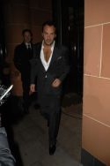 Last night leaving Cipriani Restaurant in London