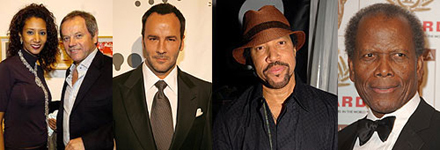 Tom Ford and other invited guests