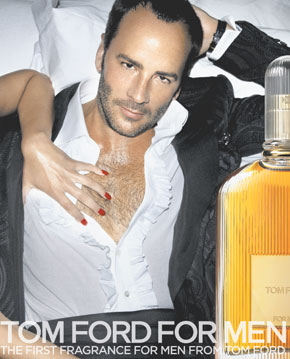 Tom Ford in ad campaign