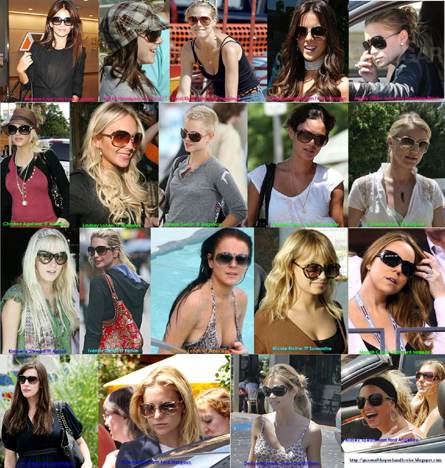 Celebrities and Tom Ford Sunglasses