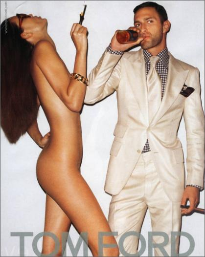 Tom Ford menswear ad