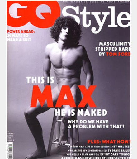 Max and nudity