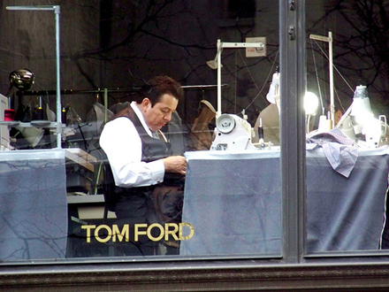 Store of Tom Ford in New York