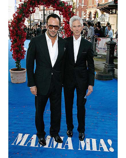 Tom Ford with his longtime partner Richard Buckley