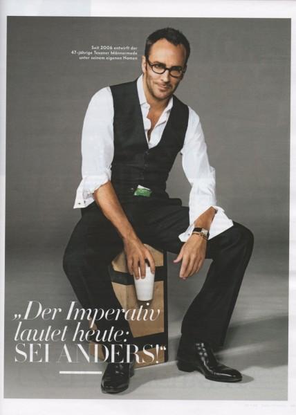 Tom Ford as model