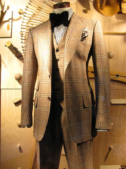 image from Bergdorf Goodman's men's store on 5th Avenue.