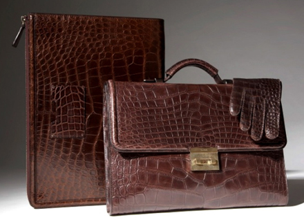 Tom Ford's Alligator Luggage