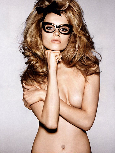 Anna Jagodzinska and Tom Ford Eyewear