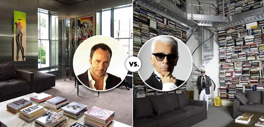 Tom Ford vs. Karl Lagerfeld