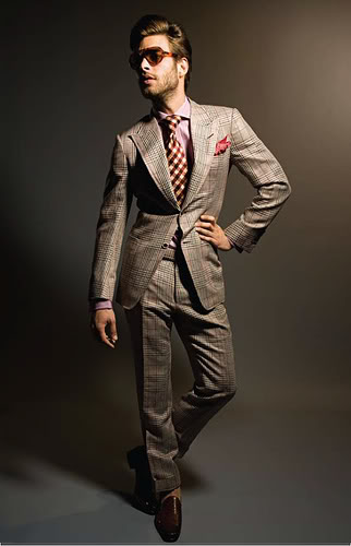 Tom Ford spring 2010 suite collection