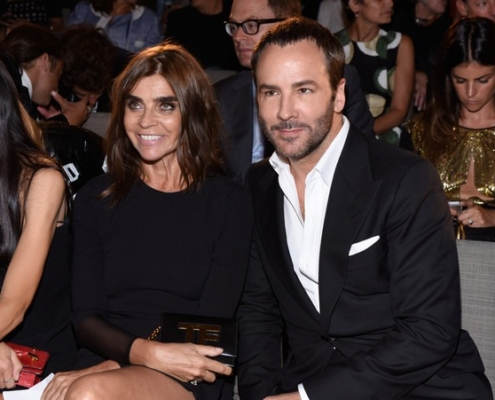 Carine Roitfeld & Tom Ford