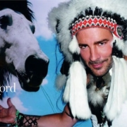 Tom Ford as an American Indian