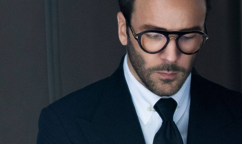 tom ford with glasses
