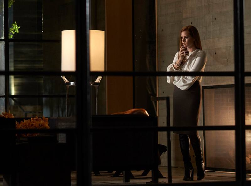 "Color and light: Amy Adams in Mr. Ford's romantic thriller, ""Nocturnal Animals.""CreditMerrick Morton/Focus Features, via Associated Press"
