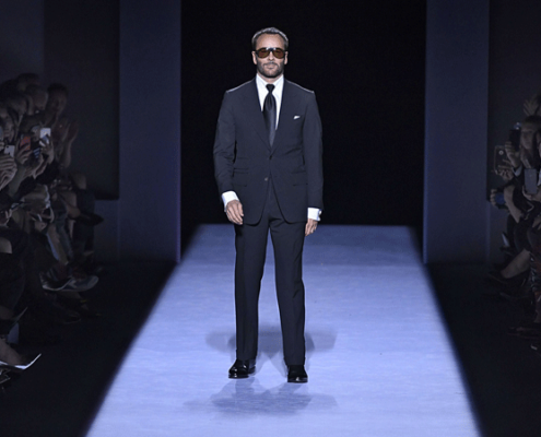 Tom Ford in his Suit